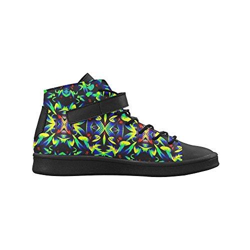 Artsadd Coloful Patroon Ronde Neus Dames Schoenen Boost Sneaker