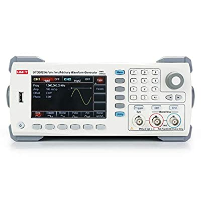 UNI-T UTG2025A Function/Arbitrary Waveform Generator, 2 Channel, 25MHz, 125MS/s Sample Rate