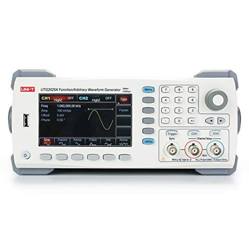 UNI-T Waveform Generator, UTG2025A Arbitrary Function Generator, 2 Channel, 25MHz