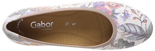 Gabor Women's Comfort Sport-Wide Fit Closed Toe Ballet Flats Multicolour (Multicolour 38) wrmUhVaO