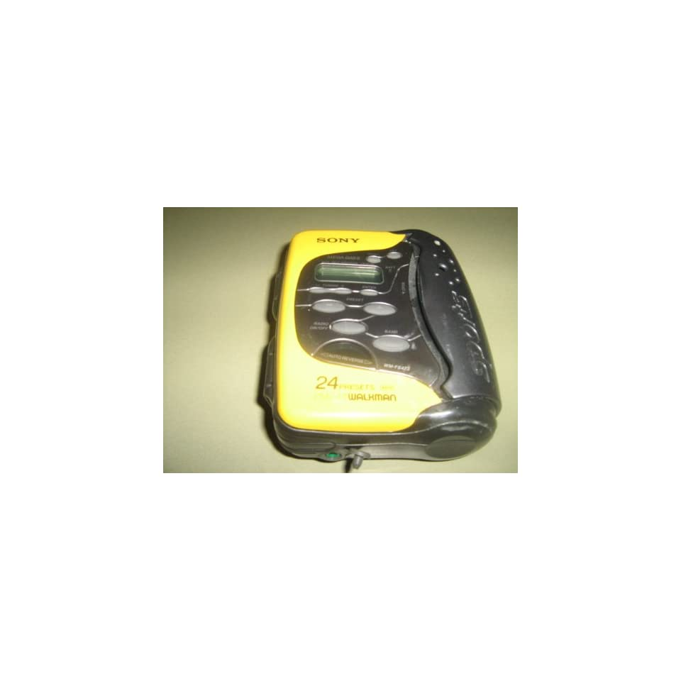 Sony Walkman Radio Cassette Player #WM FS473