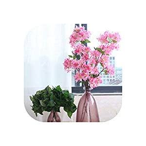 Outstanding Artificial Silk Lilac Flowers 4 Branches 1 Bouquet Lilac Simulation Silk Flower Bride Bouquet New Year Home Party 112