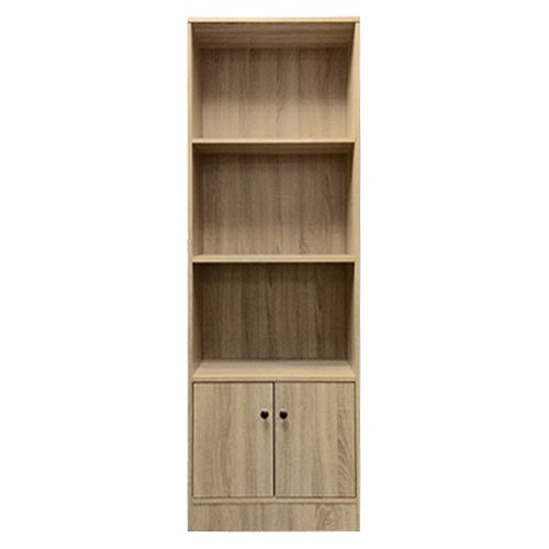 Lyon Tall Bookcase With Cupboard6012 the-product
