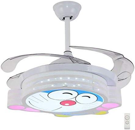Ventilador de Techo con Luz Lámpara 107cm Dibujos Animados Gato ...