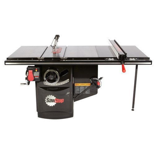 Cheap SawStop 3HP Industrial Cabinet Saw with 36-Inch Industrial T-glide Fence System