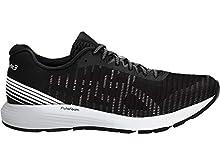 ASICS Men's Dynaflyte 3 Running Shoes, 10.5M, Black/White