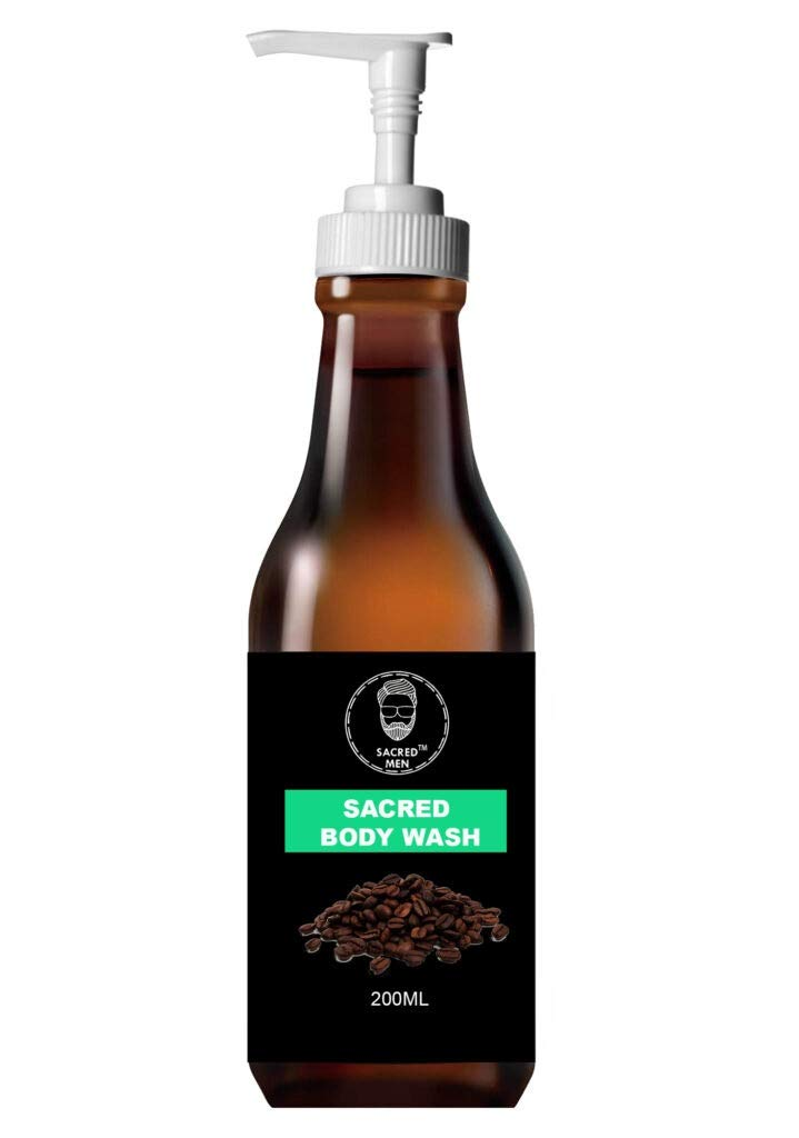 Sacred Men Coffee Body Wash 200ml