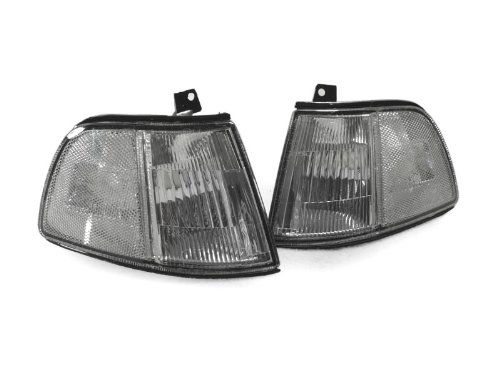 REVi MotorWerks DEPO Clear Corner Lights Lamps Set FIT for 1990-1991 Honda Civic 3D Hatchback