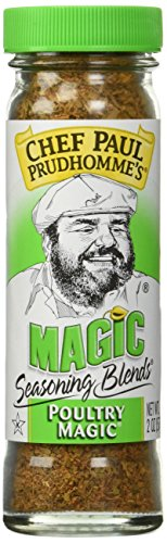 Chef Paul Prudhomme's Magic Seasoning Blends ~ Poultry Magic, 2-Ounce Bottle