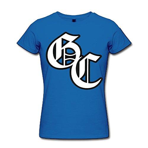 Cozyou Charlotte GC Logo Women Casual Short Sleeve Tee XL (Paul Pierce Youth Jersey)