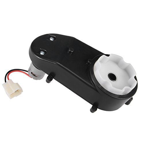 uxcell Gearbox for Power Wheels 390 DC 6V 18000RPM High Speed Drive Engine Motor for Electric Ride on Car