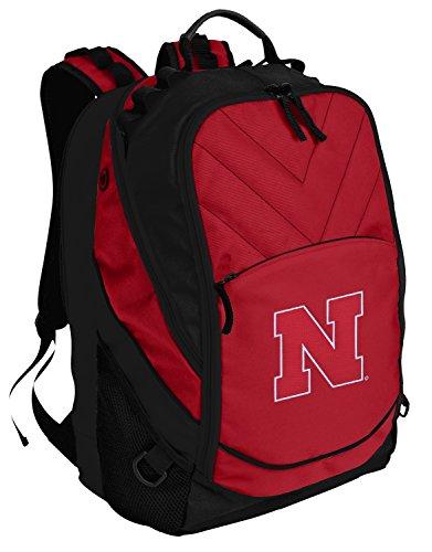 Nebraska Huskers Backpack Red University of Nebraska Laptop Computer Bags Nebraska Cornhuskers Laptop Backpack