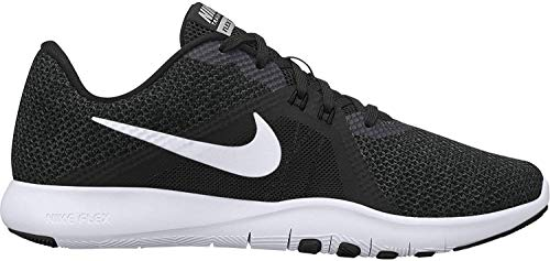 Nike Womens WMNS Flex TR 8 Wide Black White Anthracite Size 6.5