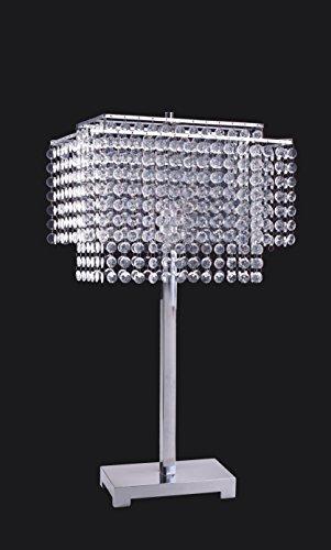 SH Lighting Major-Q Crystal Inspired Table Lamp/Floor Lamp Collection 732 Plus New Night Light ()
