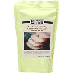 The Prepared Pantry Bread Machine Mix, Diego's Jalapeno Cheese, 20 Ounce