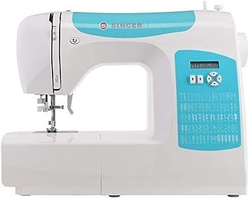 Singer C5205 Turquesa/Blau máquina de Coser: Amazon.es: Electrónica