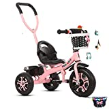 MOKACOCO 2 in 1 Kids Glide Tricycles Toddler Tricycle Baby Balance Bike Trike for 2 Years Old and Up...