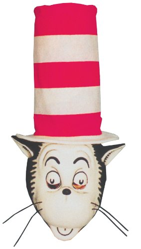 Cat In The Hat Mask (Cat In The Hat Mask W Hat)