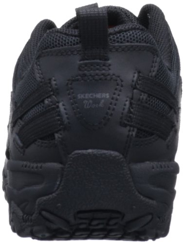Up Shoe Work Black Women's for Skechers Lace 76492 Compulsions Work Chant 50HTyxwyzq