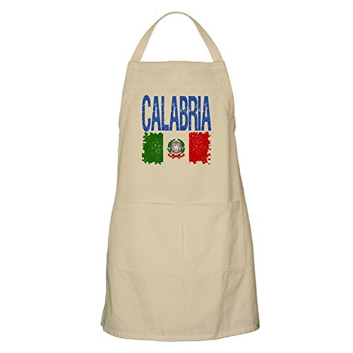 Classic Grilling Apron - CafePress Classic Retro Calabria BBQ Apron Kitchen Apron with Pockets, Grilling Apron, Baking Apron