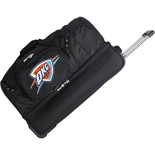 DENCO OKLAHOMA CITY THUNDER 27 INCH 2-WHEELED DROP BOTTOM DUFFEL by Denco Luggage 1048749