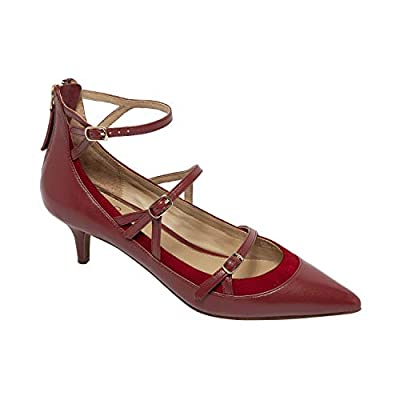 Linea Paolo   Cathy   Strappy Pointy Toe Mid-Height Heel Cage Pump (New Fall)