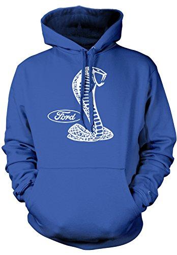 Amdesco Men's Ford Cobra Logo, Officially Licensed Design Ho