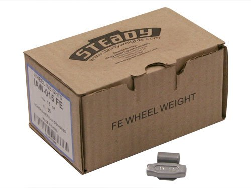 Box of 25 Coated IAW Wheel Weights 15 gram Fortune