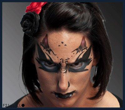 UPC 844925016094, Demon Stencil Airbrush Makeup Face Template