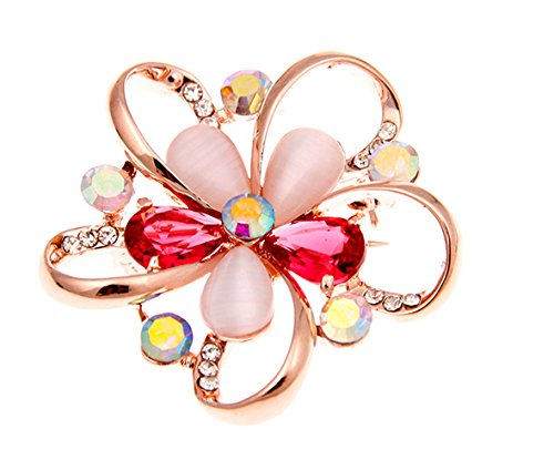 RAULFANT Colorful Brooches Pins Clips for Women Wedding/Dailywear/Banquet