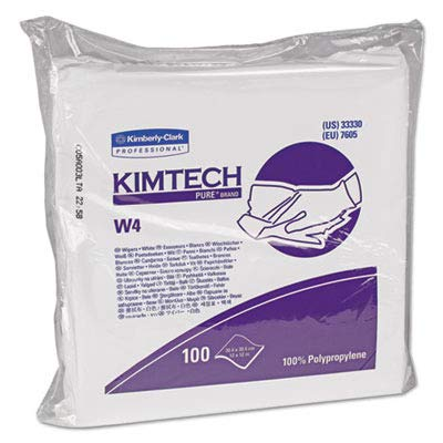 (Kimberly Clark Safety 33330 Crew Critical Task Cleanroom Wipers, 11-1/2