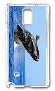 Adorable humpback whale Hard Case Protective Shell Cell Phone For Case Samsung Galaxy S3 I9300 Cover - PC Transparent