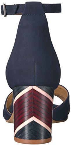 Steven Door Steve Madden Vrouwen Voomme-s Jurk Sandaal Navy Nubuck