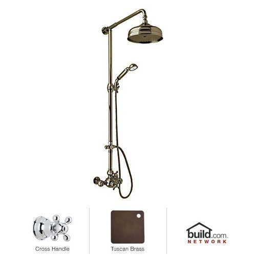 ROHL AC407X-TCB THERMOSTATIC SHOWER Tuscan Brass