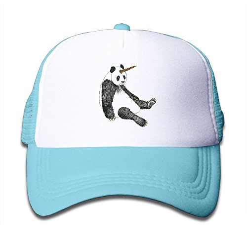 bc50edf15b8 NO4LRM Kid s Boys Girls Lazzy Panda Youth Mesh Baseball Cap Summer  Adjustable Trucker Hat
