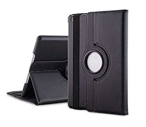 Mcart Synthetic Leather Flip Cover Case for Apple iPad Mini 1 2 3  Black