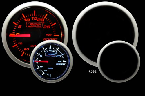 Boost Gauge Electrical Amber Performance