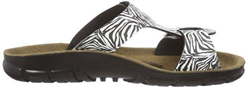 BirkenstockSofia Birko-Flor - pantuflas mujer multicolor - Multicolore (zebra Black)