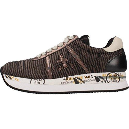 Calzado deportivo para mujer, color marr�n , marca PREMIATA, modelo Calzado Deportivo Para Mujer PREMIATA CONNY Marr�n marr�n