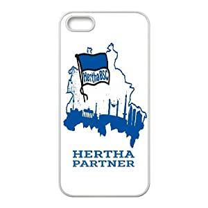 iPhone 5,5S Phone Case Printed With Hertha Berlin Images