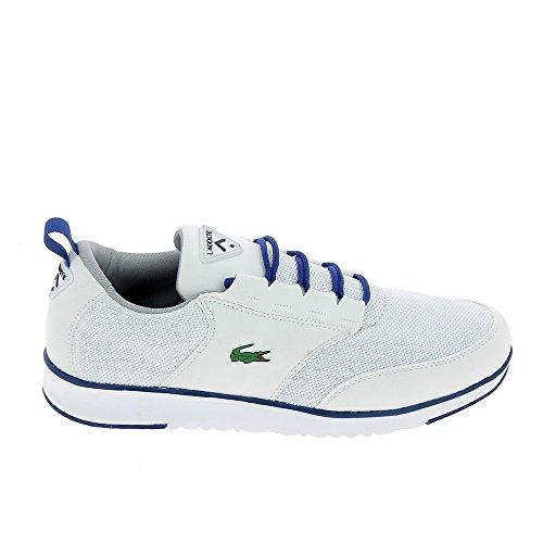 Lacoste Man Shoes 733SPM1026 001 Light 117 - White