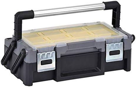 ツールオーガナイザー 部品のネジ小物収納用18インチマルチレイヤー折りたたみToolboxのホームハードウェア多機能ポータブル修理ツールボックス ポータブルツールボックス (Color : A)