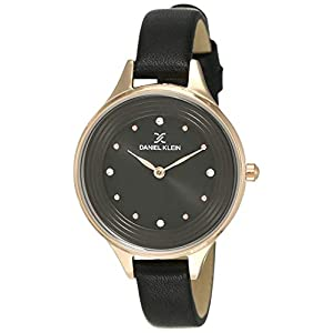 Daniel Klein Analog Black Dial Women's Watch-DK12037-6