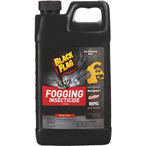 (Black Flag Outdoor Fogging Insecticide, 64 oz, Pack of 3)