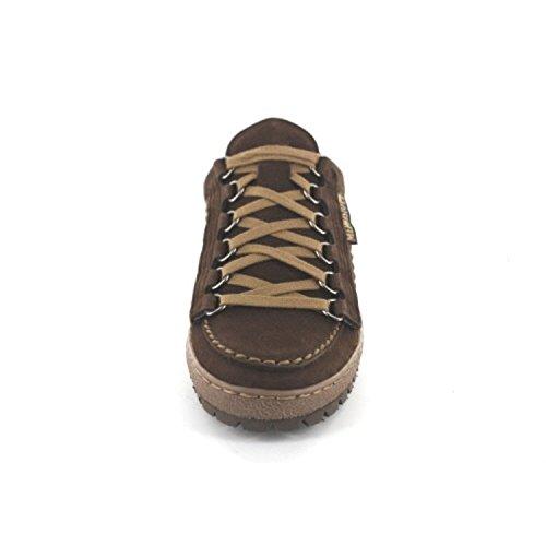 Mephisto Rainbow Dark Brown Mens Shoes marrón