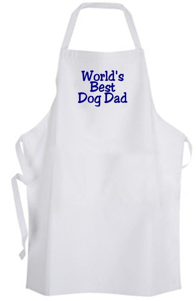 World's Best Dog Dad – Adult Size Apron – Pet Father