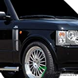 2005 range rover hse grill - Topline Autopart Silver Mesh Front Side Fender Vent Grill Grille Abs 03-11 Land Range Rover Hse