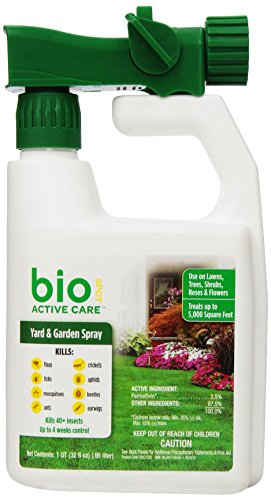 BioSpot Active Care Yard & Garden Spray 32 oz (Bio Flea And Tick Spot On Reviews)