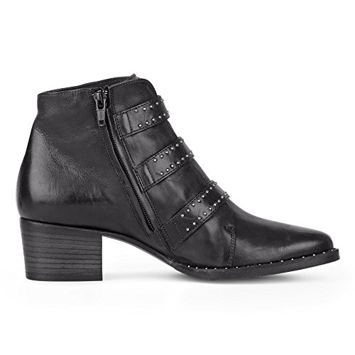 Boot Noir Paul Green 9125 Ankle Yq06wa