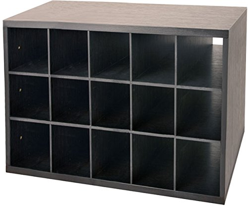 Organized Living freedomRail 15-Cubby Shoe Storage Big OB...
